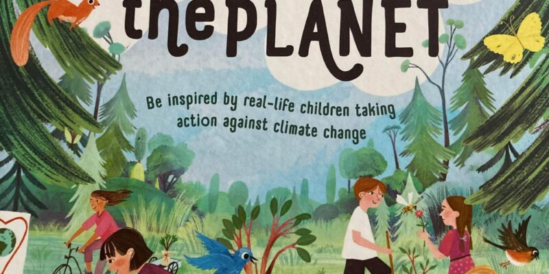 Old Enough to Save the Planet: eye-catching front cover